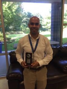 Darryl wins 2014 Advocate Award