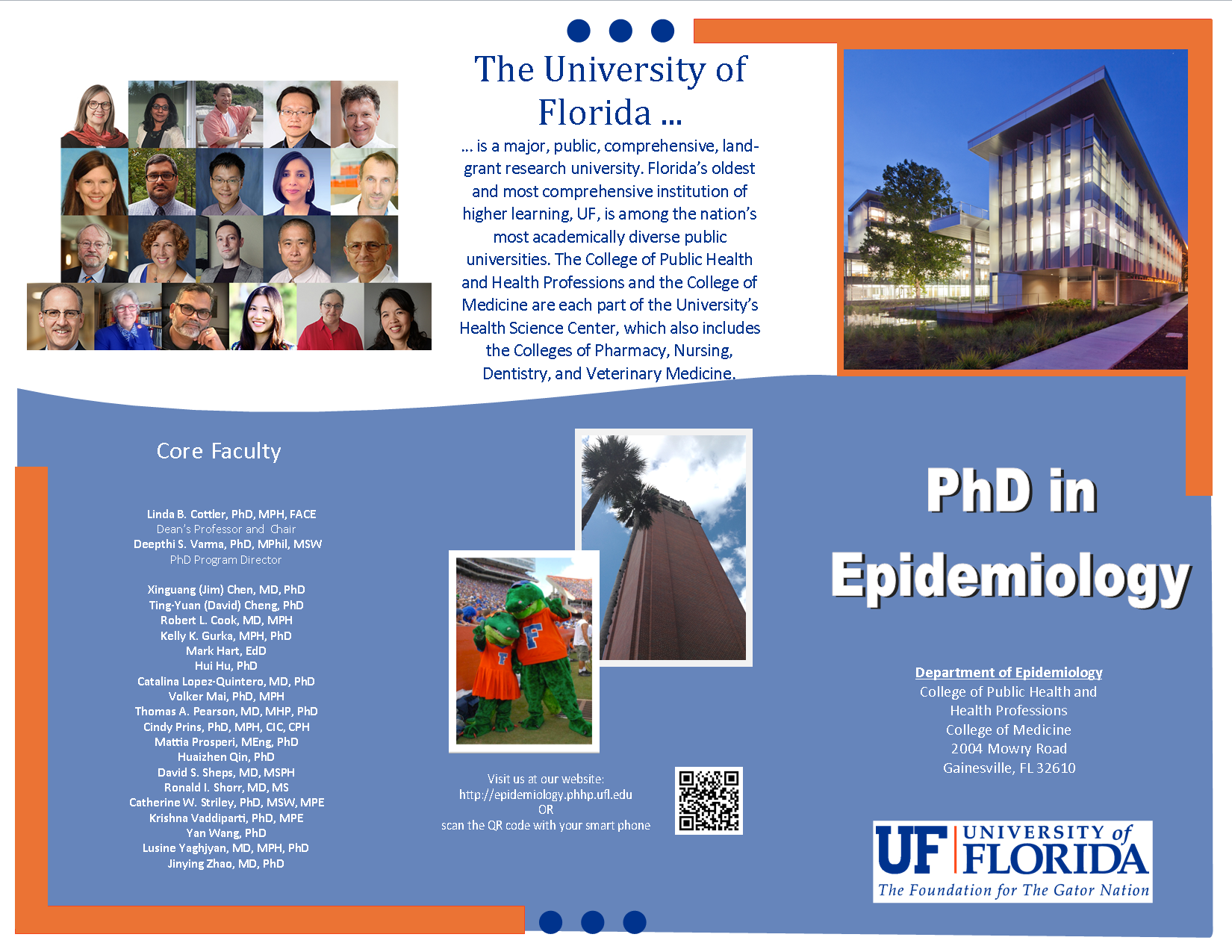 PhD in Epidemiology Brochure