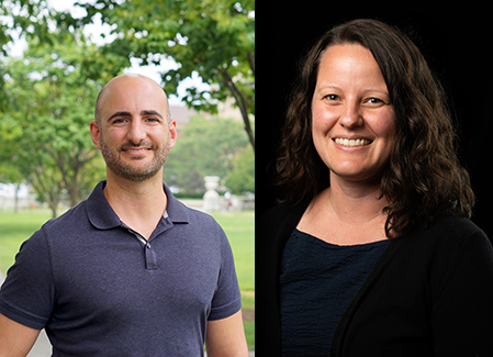 Drs. Taj Azarian and Erin DeFries Bouldin